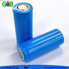 Cylindrical Li-ion Battery 26650 3.7V 4500mAh for Moped electric motorcycle