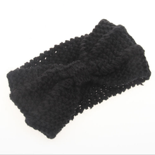 Factory Price Wholesale Hair Accessories Knitted Crochet Handmade Wool Headband for Womens