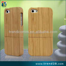 china mobile phone spare parts natural wood mobile phone cases for iphone 5