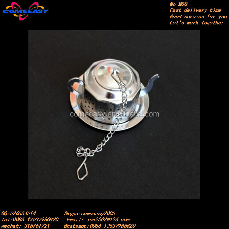 with heart pendent unique teapot shaped stainless tea infuser