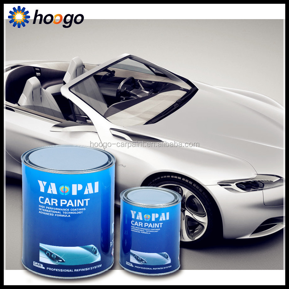 1K silver colors acrylic pearl automotive paint