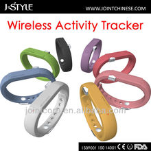 J-Style 3D pedometer bluetooth bracelets fuelbands activity tracker walking time calculator