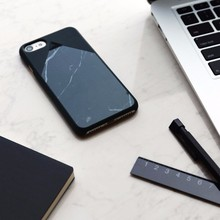 Hot selling granite back cover for iPhone 7 marble phone case accesory for iPhone 7 plus