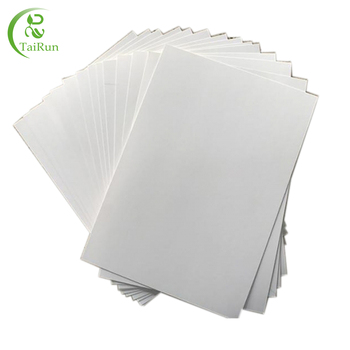 Double Side Coated Duplex Board With White Back made by recyecled waster paper from China