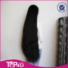 Alibaba hot same 100% human hair virgin remy brazilian 40inches human hair wig