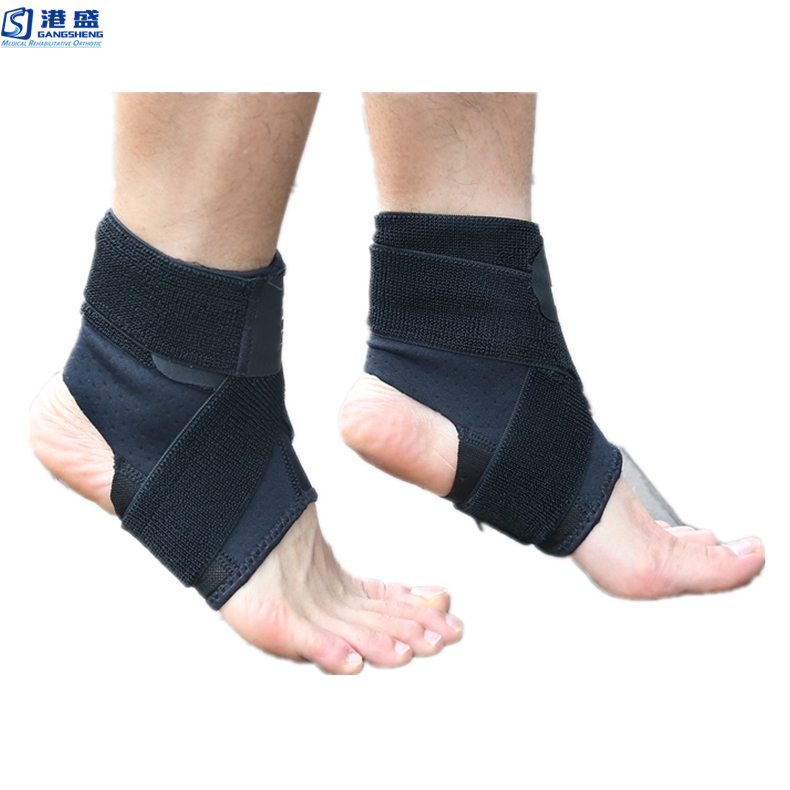 Professional Outdoor Sports Safety Compression Foot Sleeve Breathable Ankle support