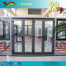 2016 new product good quality flexible designs sound insulation folding glass garage doors