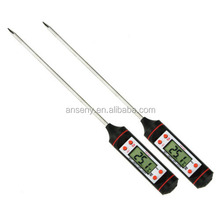 Stainless steel mini pork lamb chicken beef steak thermometer