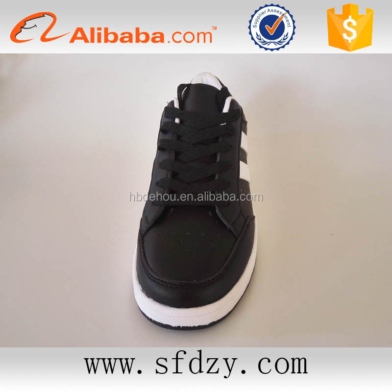 Fashion black dress shoe pu leather casual shoes for men alibaba china online shop 2017