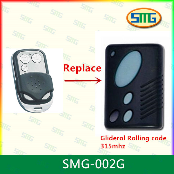 315Mhz rolling code remote control for Dominator gate opener