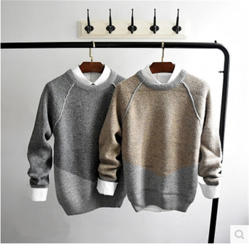 MS70942G New arrival men's slim fit spring sweaters