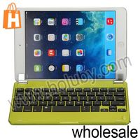 Aluminium Alloy Ultrathin Design Bluetooth Keyboard for iPad Mini 1 2 With Magnetic Slot