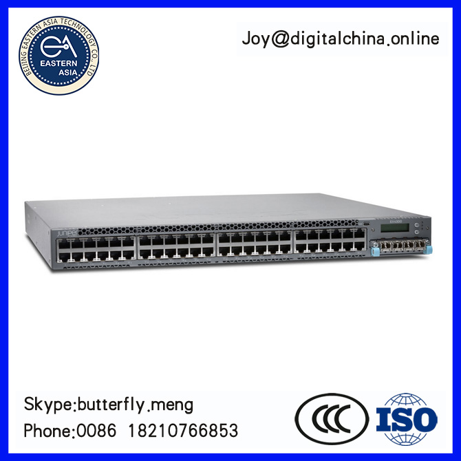 Original New! Juniper Networks Ethernet Switch EX4300-48P 48-port BASE-T PoE-plus + 1,100 W AC PS