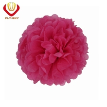 Tissue paper pompoms colorful DIY made for wall party decoration paper flowers