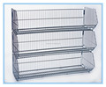 High quality stackable wire basket for supermarket