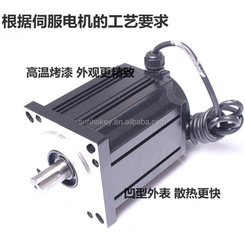 220v three phase 130 stepper motor 130byg350b 28nm for Three phase stepper motor