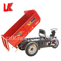 dump truck lift hydraulic cylinder/three wheel dump tricycle for cargo/china electric cargo tricycle prices