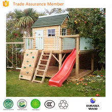 Best quality cubby house wooden outdoor playhouse promotion