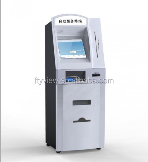 Betting Electric Self Service Payment Kiosk Machine Payment Cash