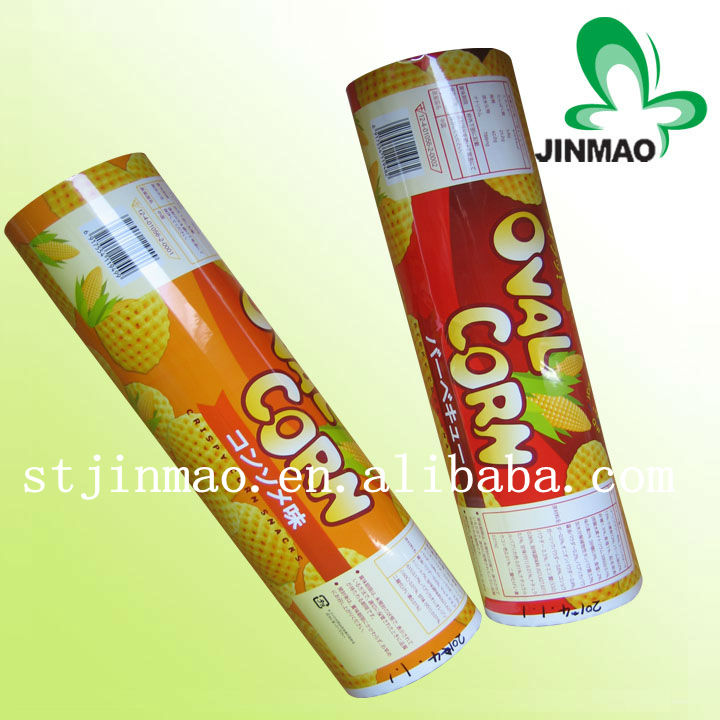 Food grade vivid printing roll film for biscuit and cookies