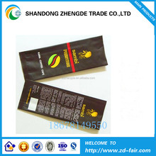 Aluminum foil coffee sachet packaging bags