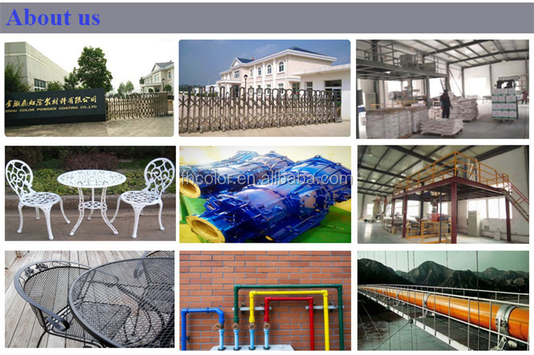 electrostatic thermosetting electrical applicance powder coating