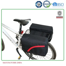 BSCI/REACH bicycle double rear pannier bag B4028