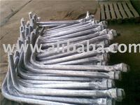 Anchor Bolt, L Bolt