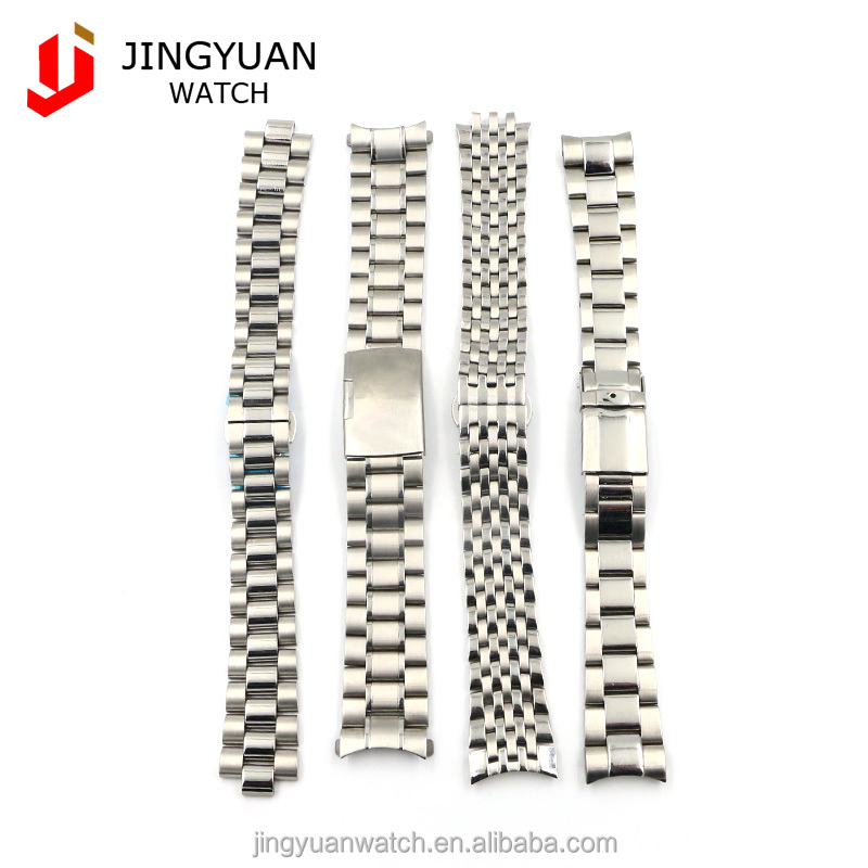 Lastest design 316L stainless steel straps metal wrist watch bands 143