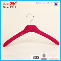 cheap universal velvet plastic hanger clothing