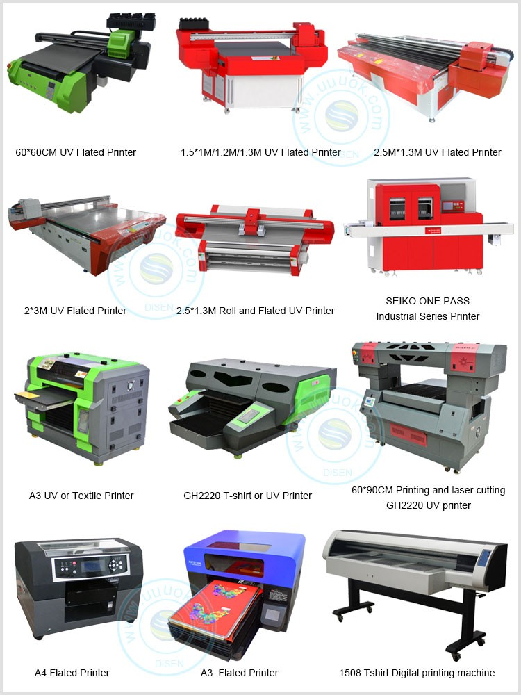 Disen factory hot sale economical 60*60cm low cost glass printing machine