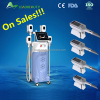 Most advanced cool tech slimming technology cryotherapy machine 4 handle