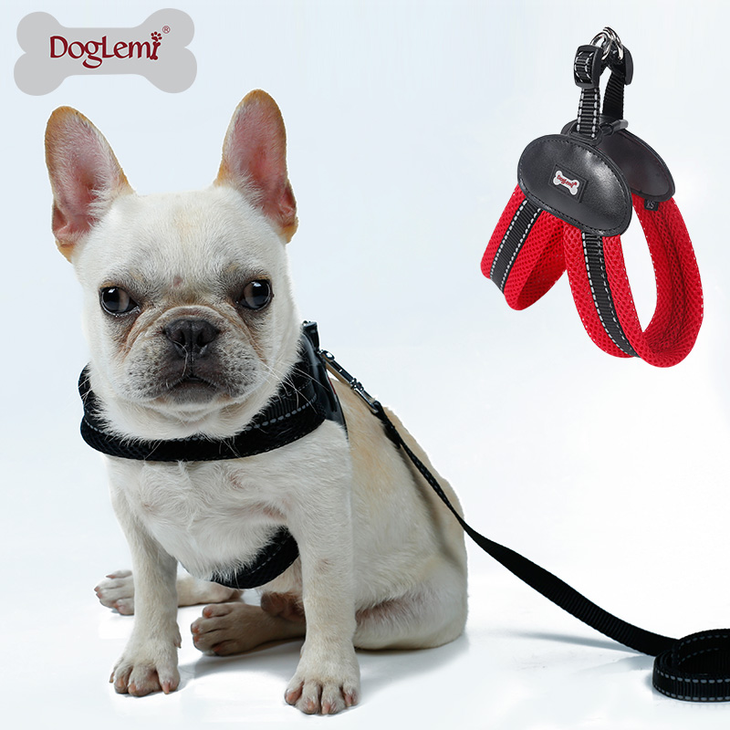 V Style Mesh Pet <strong>Dog</strong> Harness 4 Color 4 Size Harness For <strong>Dog</strong>
