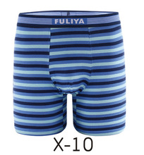 Stripe design boxer briefs men underwear