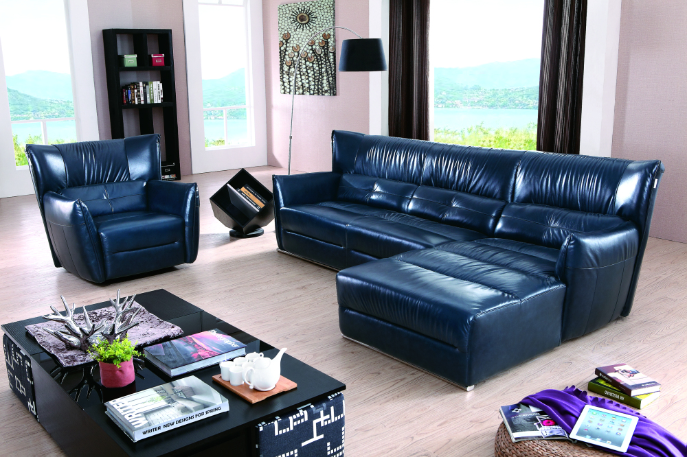 New designs 2015 luxury leather sofa 7 seater low price for 7 seater living room