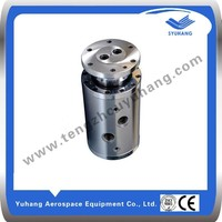 2-passage rotating pipe fittings/rotating swivel joint