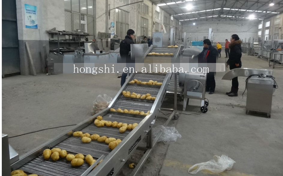 2015 Many buyer choice high quality good performance machine for potato chips