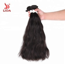 China Supplier Indian human Hair extensions Non-Remy Natural wave Straight Weft