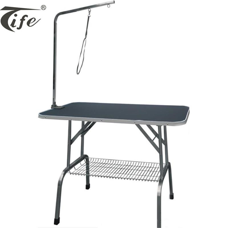 Professional factory direct sale high quality adjustable height stainless steel electric pet dog grooming table