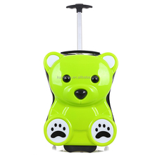 fancy abs and pc animal kids luggage