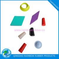 Compression molding silicone rubber product