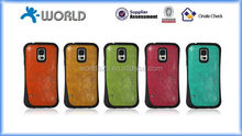 Skidproof Multi-colors Leather Skin TPU Case for Samsung Galaxy S5
