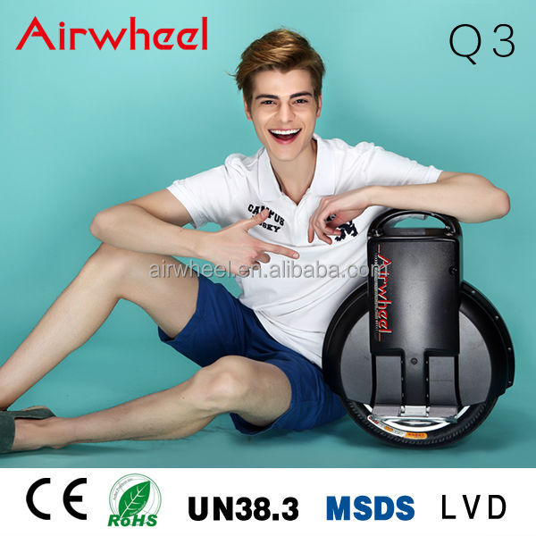 2017 wholesale Airwheel brand new model Q3 off road self balancing cheap electric unicycle