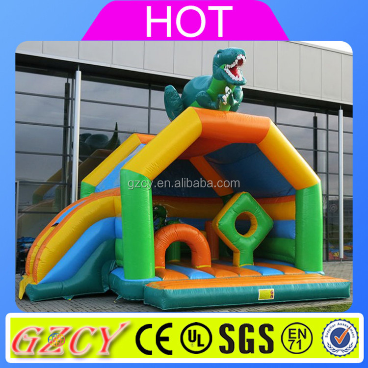 Dinosaur type small inflatable bouncer for sale