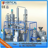 VTS-DPused oil distillation purification equipment, used oil distillation equipment ,used oil distillation plant