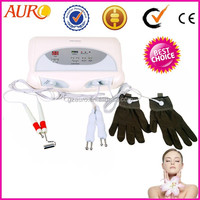 L: (Au-8403) Hot sale BIO facial massage skin tightening microcurrent machine for wrinkle removal