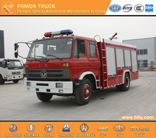 Good Quality Dongfeng 4x2 Water Fire Tank Truck Cheap price