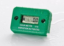 Small Engine vibration hour meter for Maintain Marine ATV Motorcycle pit bike snowmobile jet engine diesel petrol engine