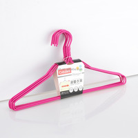 high quality xinhua Multifunctional wire plastic coat hanger for wet clothes