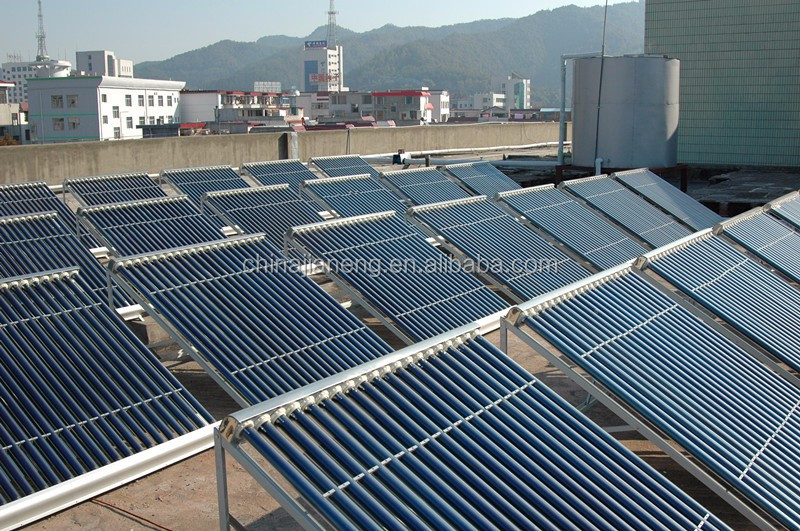 China Solar Stock Tank Swimming Pool Heaters with U Shape Vacuum Solar Collector